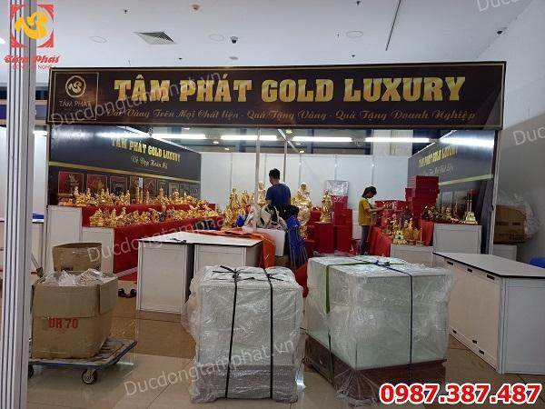 Tâm Phát Gold Luxury chào mừng ngày Doanh Nhân Việt Nam với ưu đãi hấp dẫn tại Hanoi Gift Show 2020!