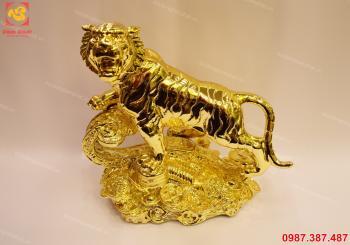 Hổ đồng mạ vàng 24k