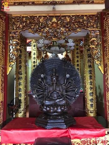Hoành phi câu đối đẹp treo ở đền chùa và các công trình tâm linh