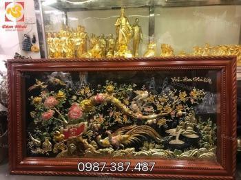 Tranh Vinh Hoa Phú Quý kích thước 1m7 x 90cm đẹp nhất hiện nay