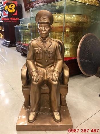 Tượng chân dung ông, bà - tượng truyền thần cao 60cm giao Tiền Hải - Thái Bình