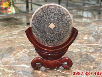 Mặt trống đồng đỏ đường kính 30cm