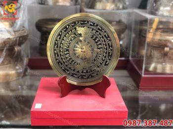 Mặt trống đồng quà tặng đường kính 20 cm