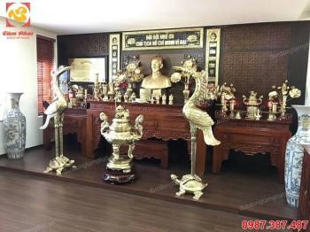 Nhận thi công lắp đặt phòng thờ Bác Hồ bằng đồng cho cơ quan đoàn thể..!