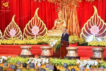 Dự án Đúc 12 quả trống đồng đường kính 60cm cho đại lễ Vesak 2019 tại chùa Tam Chúc- Hà Nam dành tặng đại biểu các nước..!