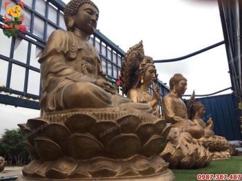 Vận chuyển 5 tượng Phật bằng đồng cao 2m cho chùa Hưng Nghĩa Tự- Bình Thuận..!
