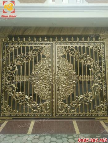 Thiết kế, thi công cổng biệt thự giá xưởng..!