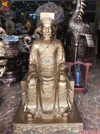 Mẫu tượng đồng Trần Quốc Tuấn thờ tưởng nhớ được ưa chuộng nhất hiện nay cao 81cm, `1m2, 1m27