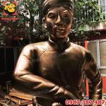 Đúc tượng đồng Nguyễn Trung Trực cao 2m tại đền thờ Phú Quốc.!