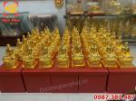 Đúc 100 pho Tượng Phật Hoàng Trần Nhân Tông cao 25cm cho chùa Yên Tử