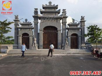 Đúc Cổng Biệt Thự - Đúc cổng đồng Chùa Lạng Giang - Hưng Yên tuyệt đẹp.!