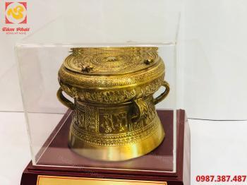 Trống đồng quà tặng, Quả trống đồng quà tặng đường kính 12 cm