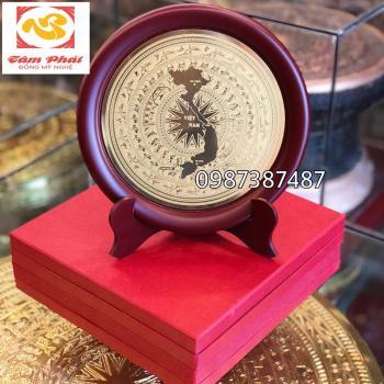 Mặt trống đồng, quà tặng mặt trống đồng đường kính 20 cm