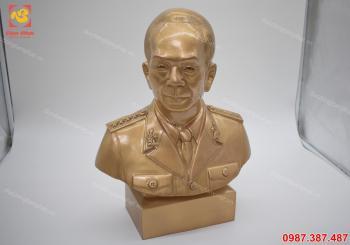 Tượng đồng Võ Nguyên Giáp cao 42 cm