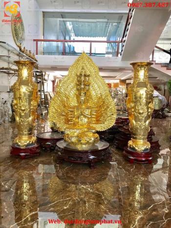 Tượng Phật thiên thủ thiên nhãn, đúc tượng nghìn mắt nghìn tay bằng đồng